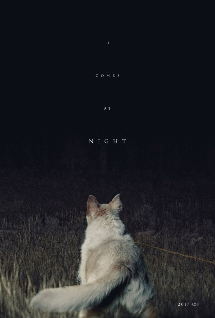 The great original poster for It Comes at Night