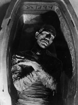 Still Image from the 1932 film, The Mummy