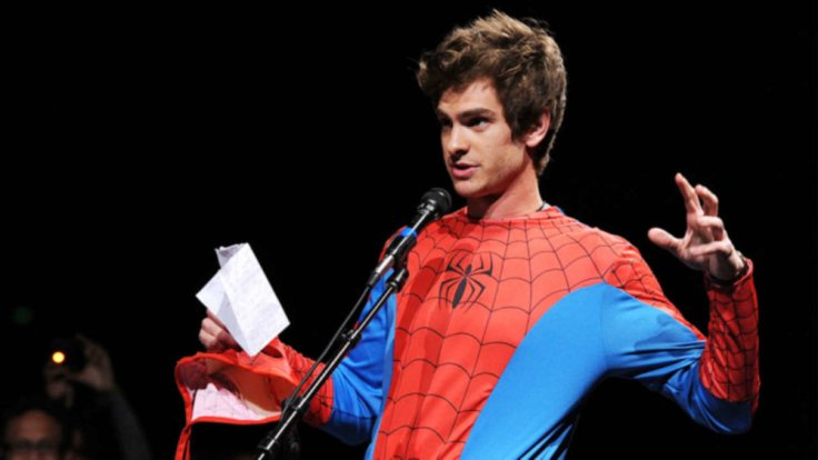 Andrew Garfield surprising guests at Comic-Con