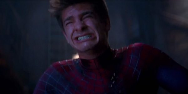 Andrew Garfield trying to use the bathroom in character like he heard Tobey used to do.