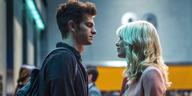 The Amazing Spider-Man 2, a romantic comedy starring Andrew Garfield and Emma Stone
